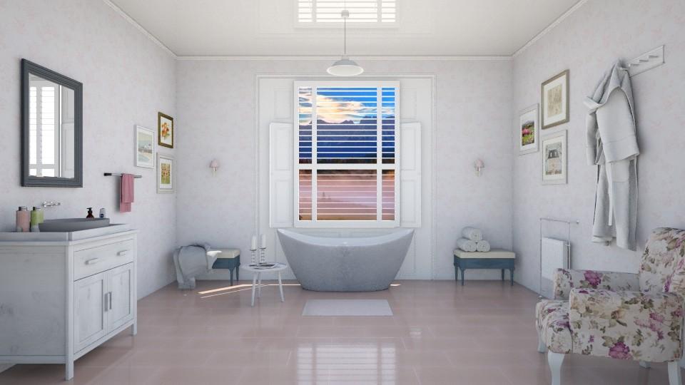 Morning haze bath - Bathroom  - by agapka
