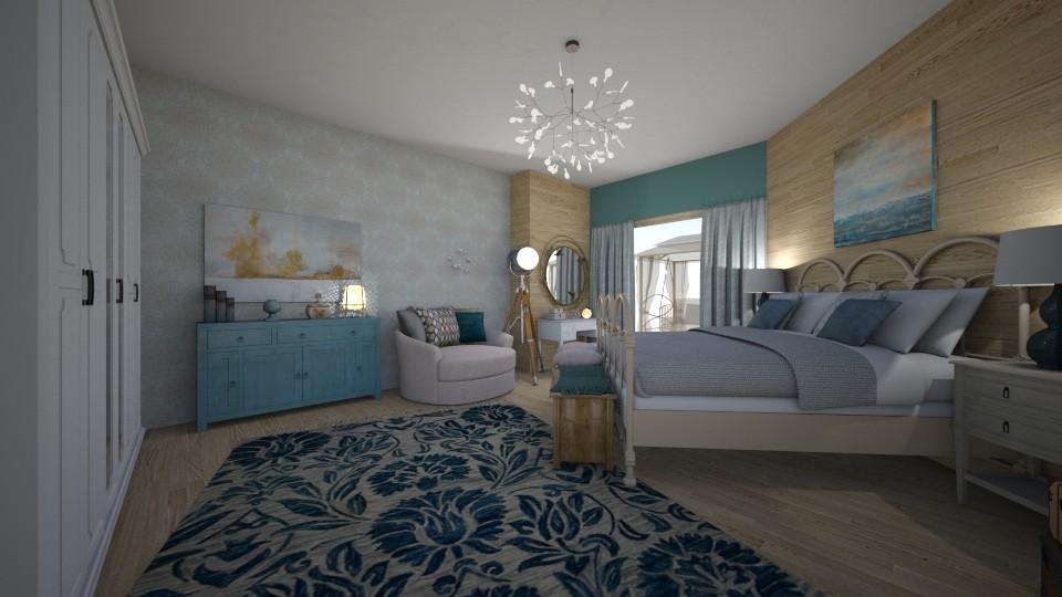 ZEN - Bedroom - by Vasiliki Stagkidou