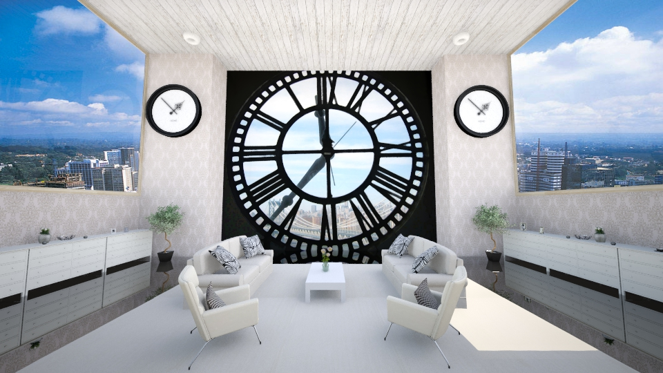 Clock Tower Penthouse - Classic - Living room - by Thika