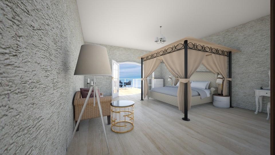 YatakOdasiBalkon - Bedroom - by Ebru Tekneci