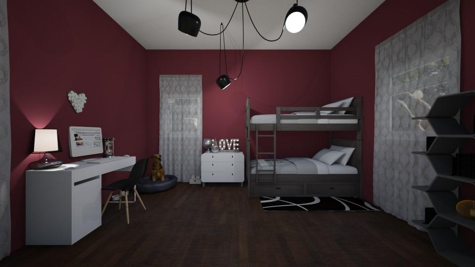 Twin Girl Room - Kids room - by RAF2024