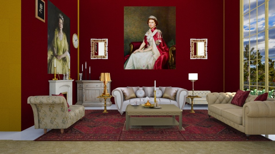 QE Palace - Living room - by ilikalle