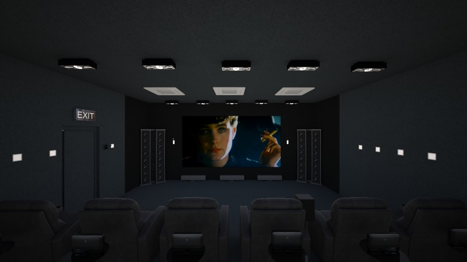 AWESOME TV ROOM - by Phospective