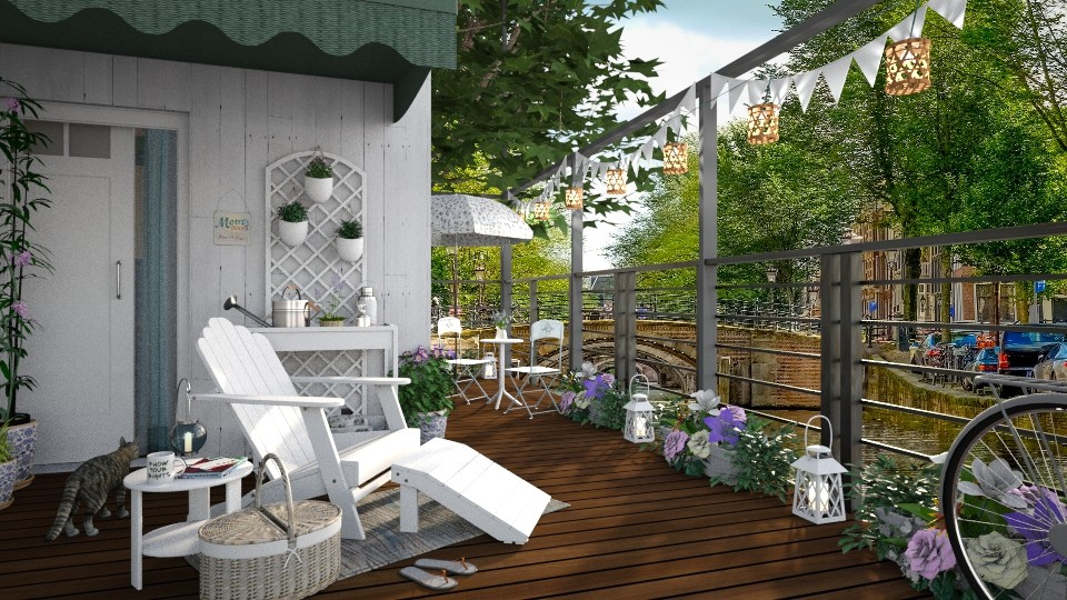 Houseboat - Garden - by Artem Vivendi