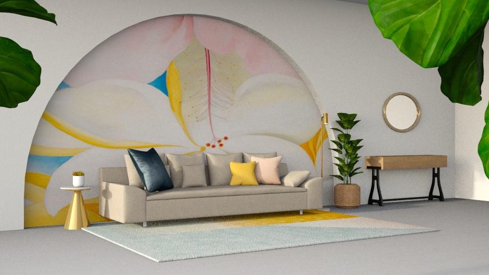 Okeefe Living Room - Modern - Living room - by CatsFurLife