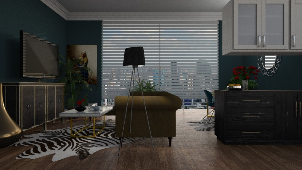 Dark - Living room - by Alda Neziri