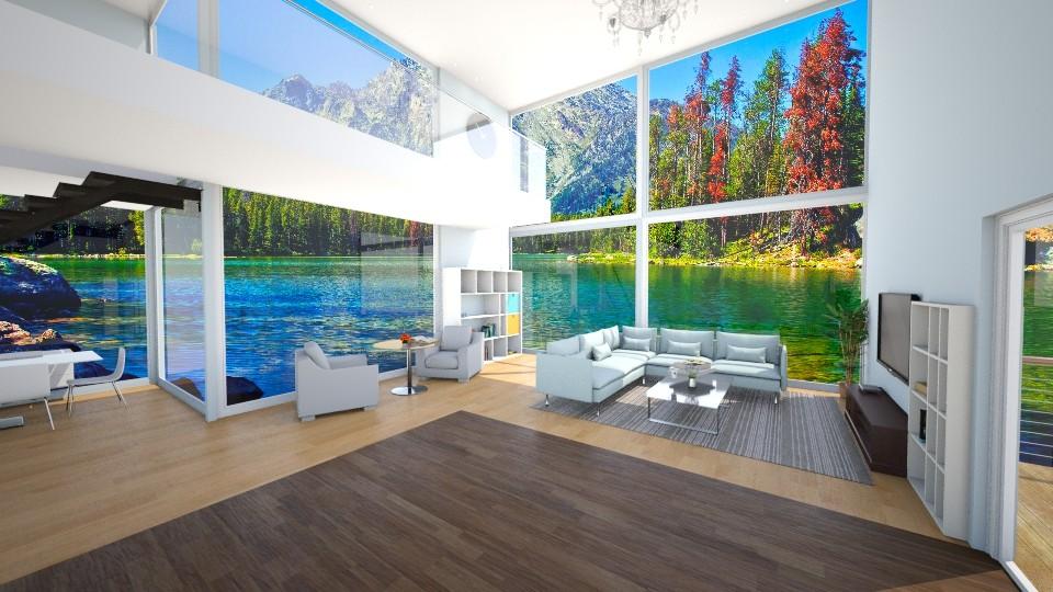 Embedded - Modern - Living room - by Mythrintia