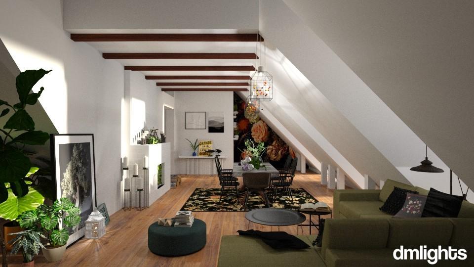 Spring inside - Living room - by DMLights-user-991288