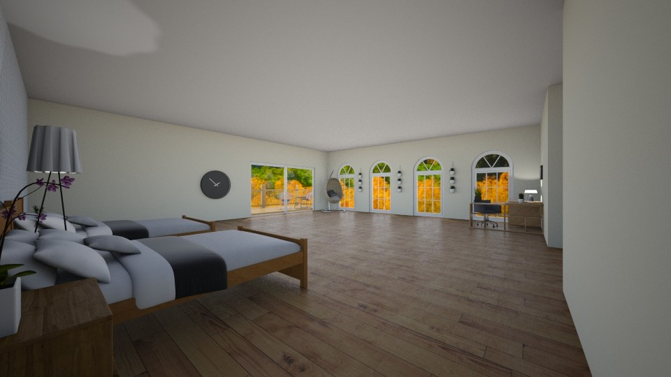 Twin Room - Bedroom - by Designs by Hailey