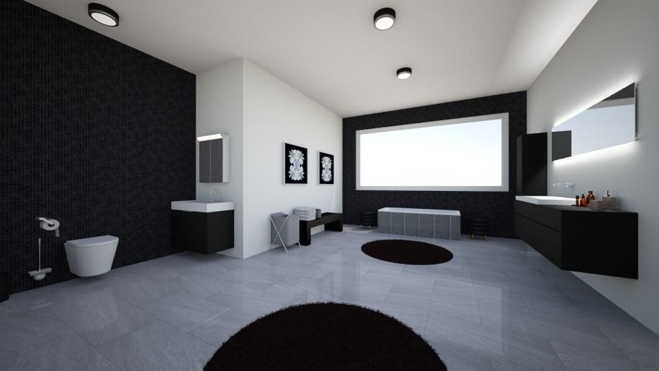 Working title no 3 - Bathroom - by Menahkarimi