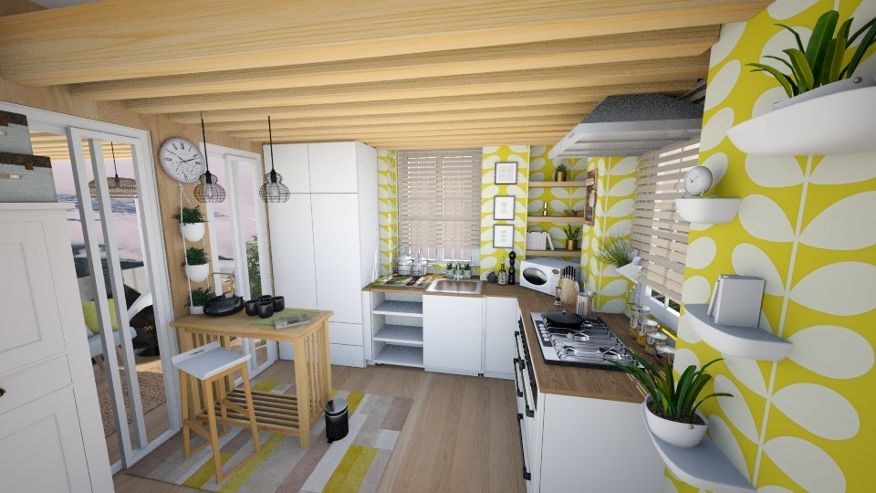Green Matter  - Modern - Kitchen  - by Sweety Sophie
