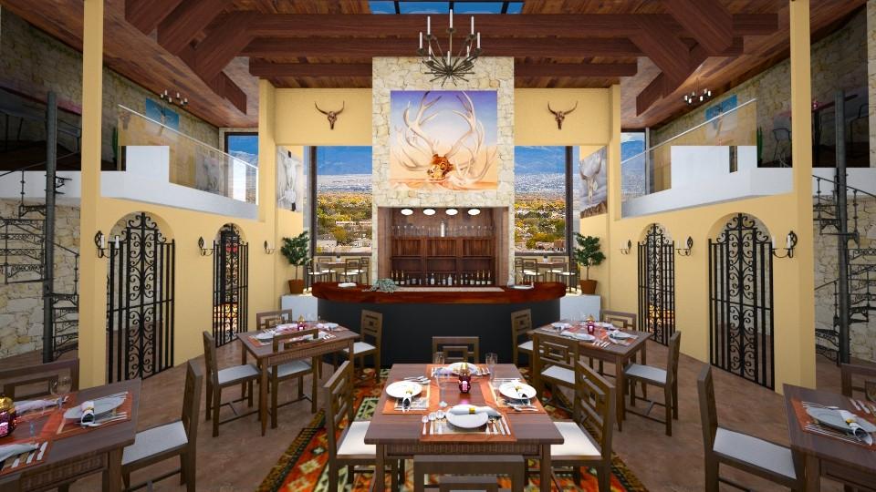 OKeeffe Inspo RestaurantA - by ginamelia22