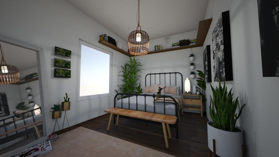 urban jungle - Bedroom - by Mackenzie Kem