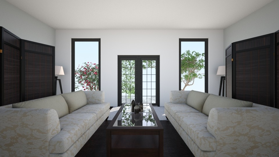 Chic - Living room - by kylathemermaid