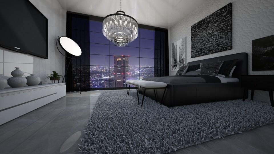 bed24062020 - Bedroom - by jezek1