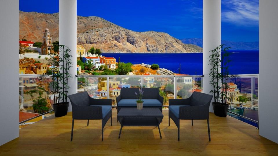Terrace - by Joan De Leon