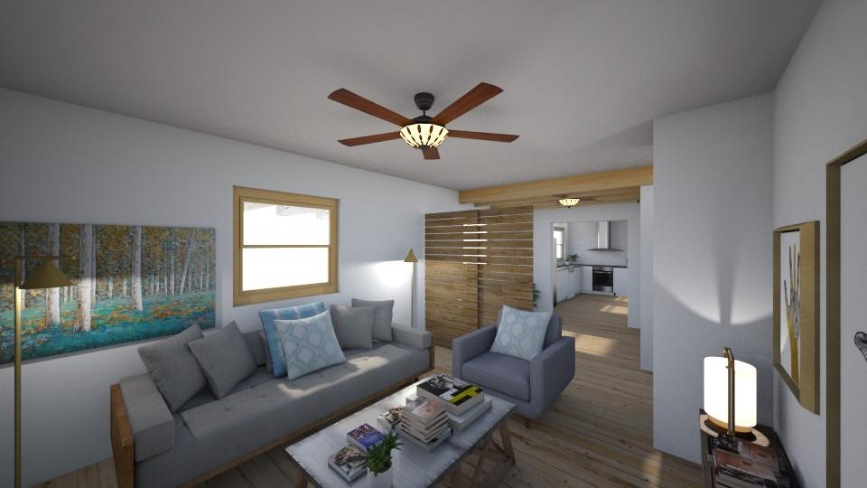Apartamento Rebeca 2018 - Living room - by Rebecaib