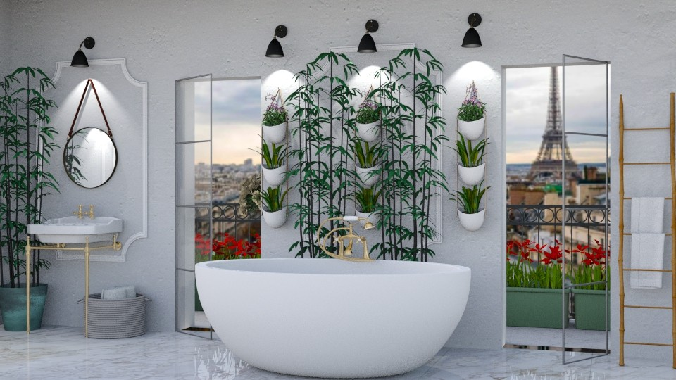 Urban Jungle Bathroom - Bathroom - by jjp513