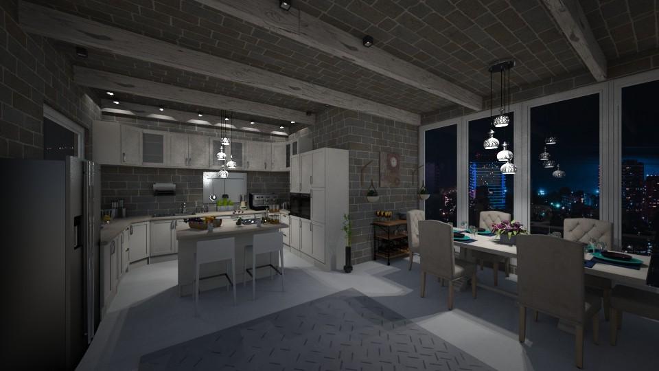2001 - Kitchen - by katarina13