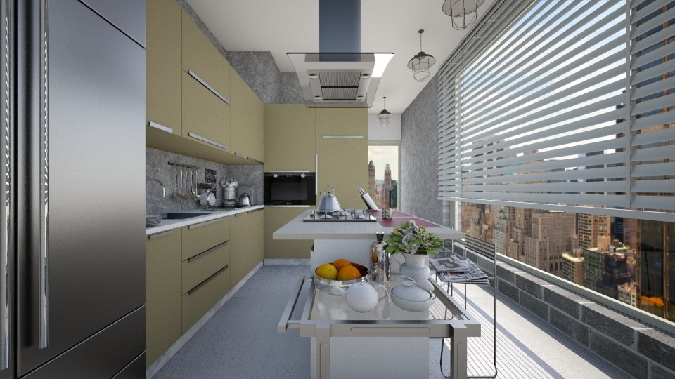 Kitchen  - by Biohome