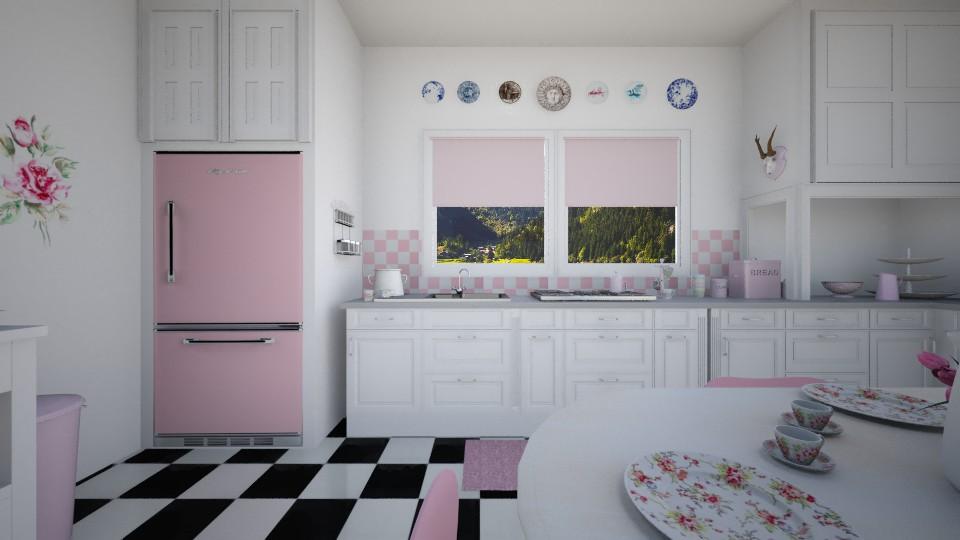 1950s Kitchen - Kitchen - by sissybee