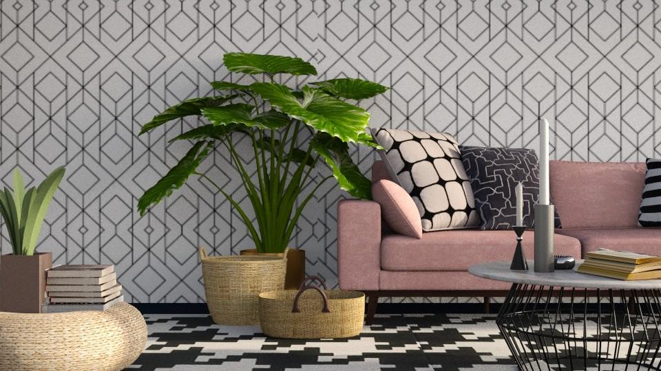 Geometric LR - Modern - Living room - by LucasMucus