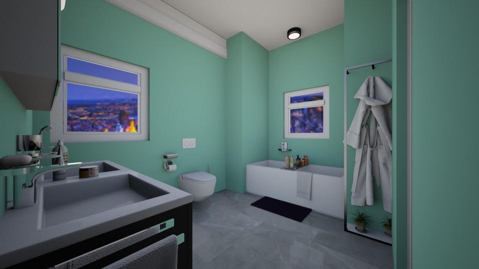 Stunning Master Bathroom - Modern - Bathroom - by RAF2024