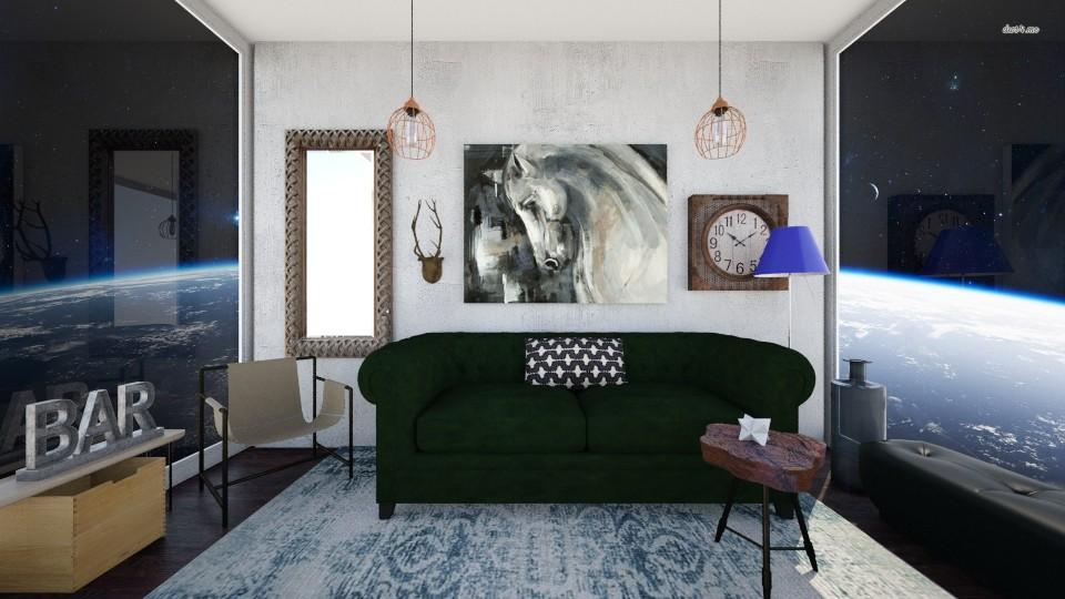 space BAR  - Modern - Living room - by Karim Mahfouz