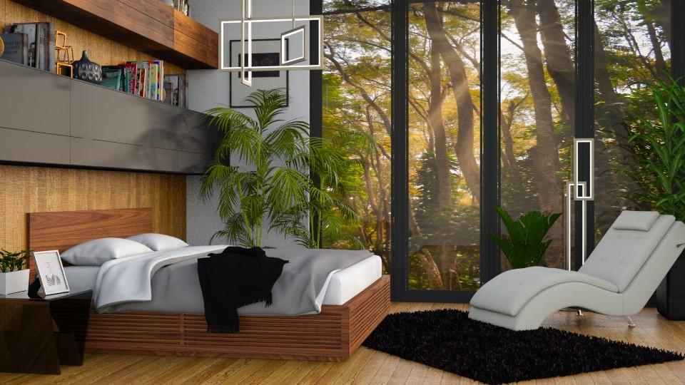 Jungle Bedroom - Rustic - Living room - by millerfam