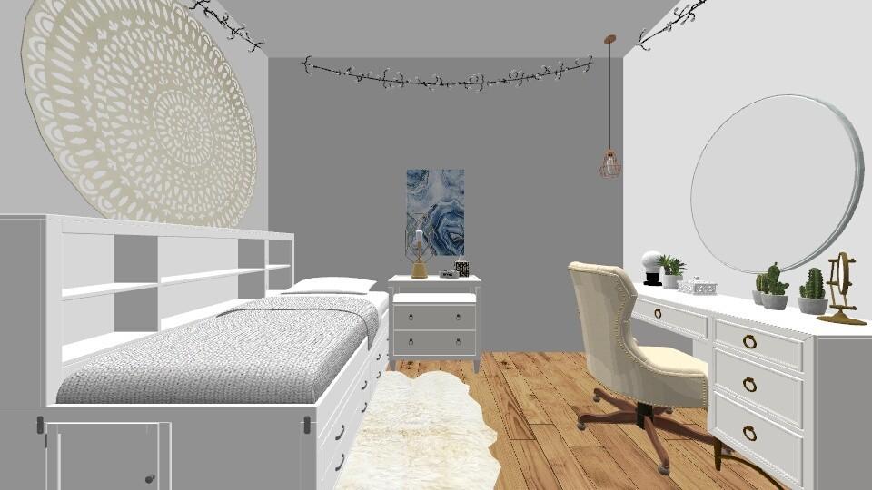 Dorm - Bedroom - by fallonfirman