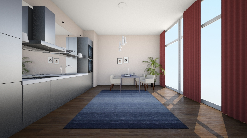 New Way Home II - Modern - Kitchen - by can264