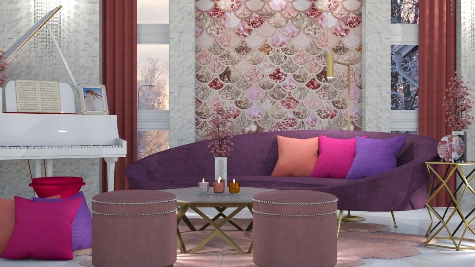 MAXIMALIST LIVING - Living room - by KC Pechangco