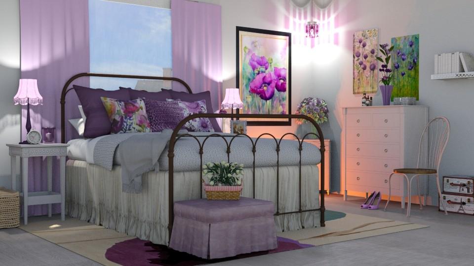 poppy bedroom - Bathroom  - by  krc60