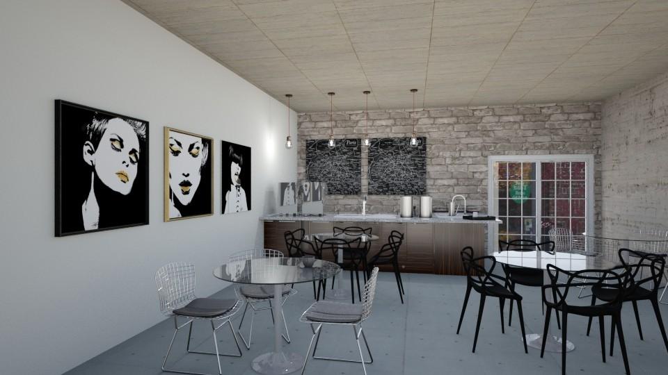 Coffee Shop - Rustic - by Roelanie
