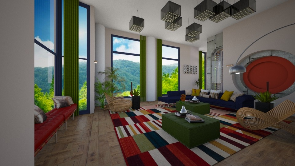 maximalist - Living room - by timeandplace