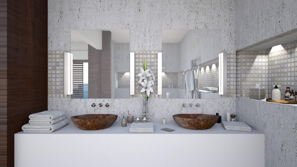 Thailand Dream IV - Modern - Bathroom  - by Claudia Correia
