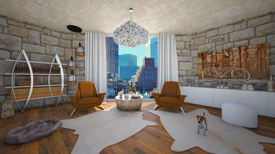 Its time for a book - Living room - by Vasiliki Stagkidou