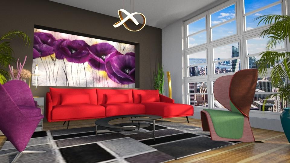 NYC - Modern - Living room - by LuzMa HL
