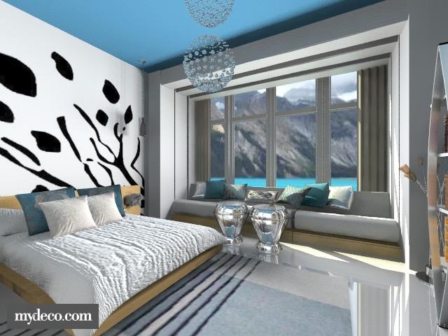 Quarto - Bedroom - by Larryssa10