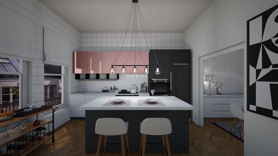 kitchen in Paris - by rossella63