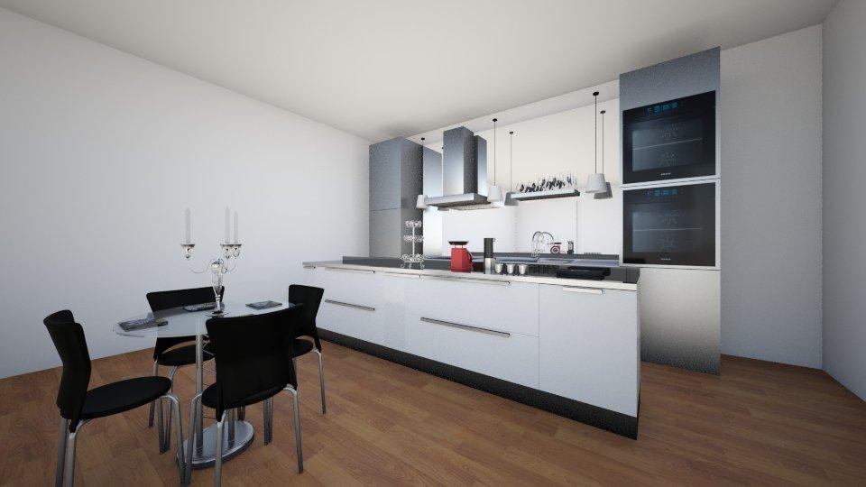 3 - Kitchen - by Domenica Molina