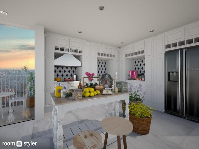 Pre Thanksgiving - Kitchen - by AlSudairy S