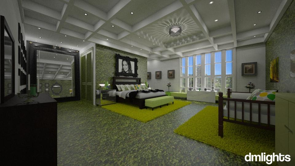 Verde  - Bedroom - by DMLights-user-994540