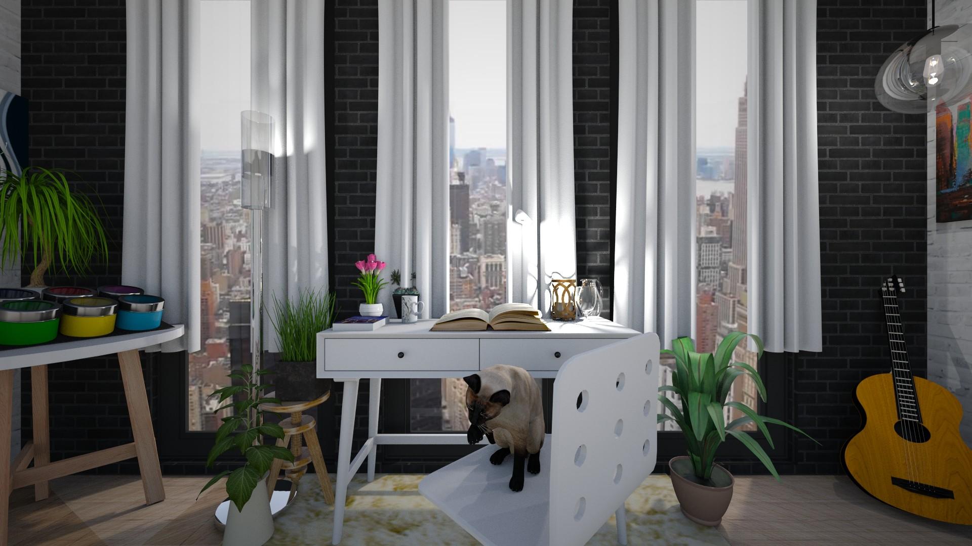 Home Office - by Sugarfishfish