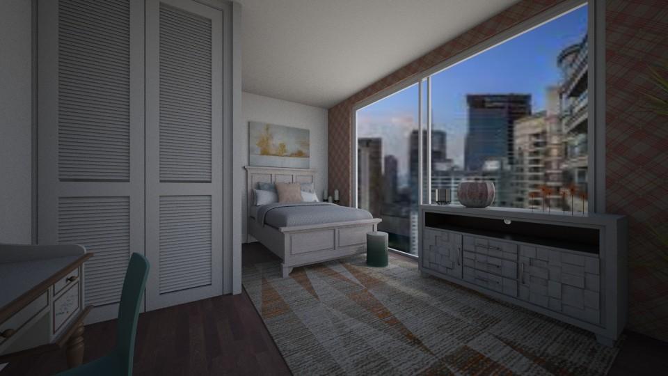 Modern Teen Bedroom - Modern - Bedroom - by mxdernjoseph