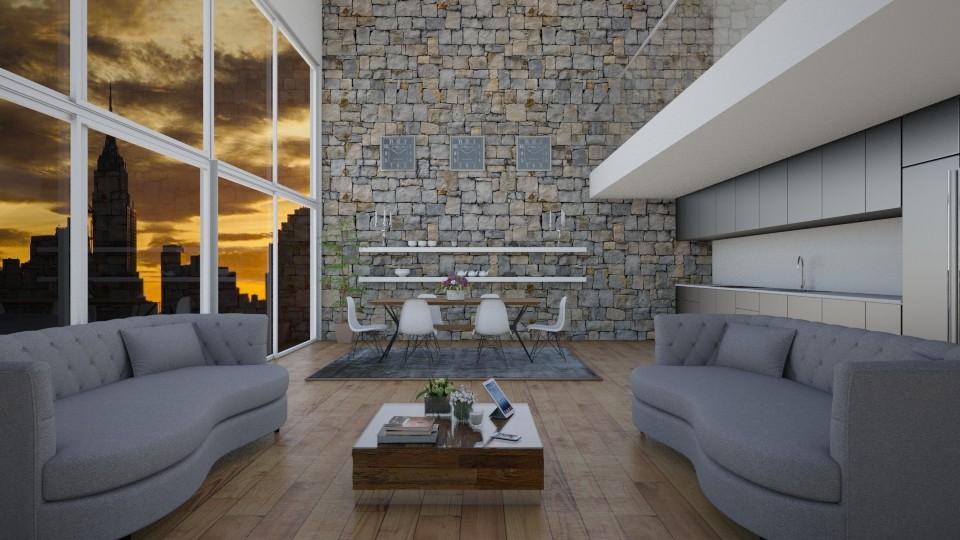 Penthouse Apartment - by lizasvetlin