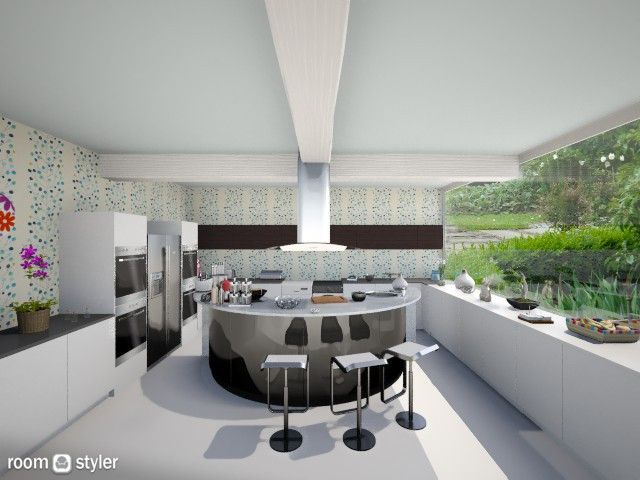 Flower_Kitchen - Modern - Kitchen - by Gre_Taa