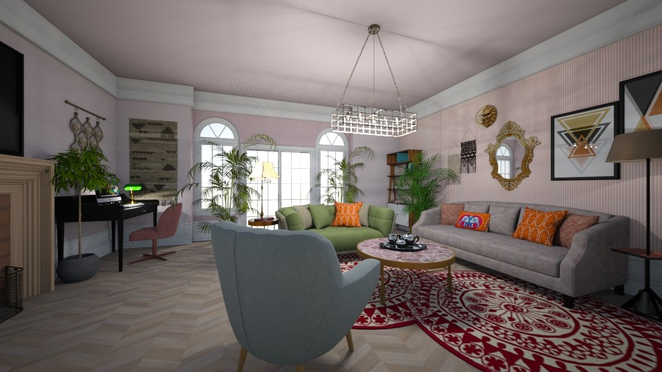 Ada Bart - Eclectic - Living room  - by AdaBart