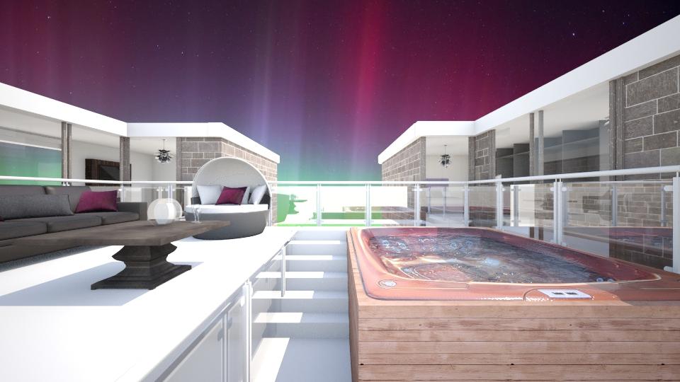 Polar Aurorae - Modern - Garden - by lauracopey