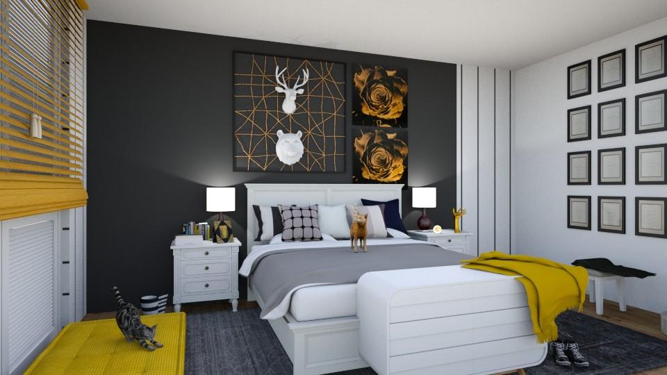 deco - Bedroom - by Mozrt